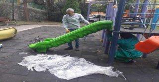 İzmitte Parklar Düzenleniyor