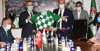 Başkan Aktaş : Bursaspor hepimiz için değerli ve önemli