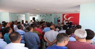 Tuna: Mersin Büyükşehir Belediyesindeki Bayrağı Düşürmeyeceğiz