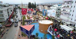 Antalyanın En Çevreci Otoparkı Açıldı
