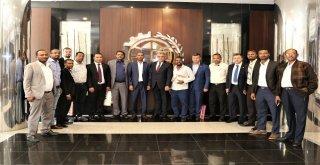 Venezuela Ankara Büyükelçisi Ve Romanya Soimuş Belediye Başkanından Gtoya Ziyaret