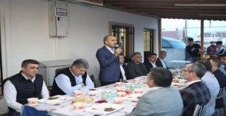 Başkan Baltacı, Erzurumlularla Gönül Sofrasında Buluştu