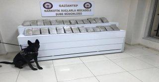 Bir Ülke 7 İlden Geçen Eroin Yüklü Tır, Gaziantepte Yakalandı
