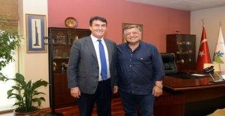 Yılmaz Vuraldan Başkan Dündara Ziyaret