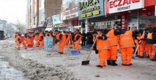 Van Büyükşehirin Karla Mücadelesi Başladı