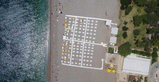 EKDAĞ Konyaaltı ve Lara Plajı hizmete açıldı