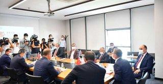 Başkan Büyükkılıç, ORAN Kalkınma Ajansı Toplantısına Katıldı