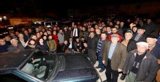 Başkan Türkyılmaza Sevgi Seli