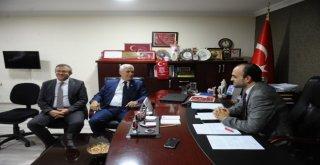 Bozbey, Mhp Bursa İl Başkanlığını Ziyaret Etti