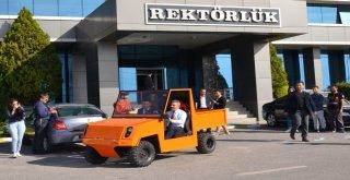 Çomü Yenilenebilir Enerji Ve Robot Topluluğu, Elektrikli Otomobil Üretti