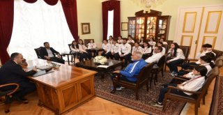 Atletizm Takımından Başkan Aktaşa Ziyaret