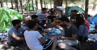 Hafta İçi İşe Gidiyorlar, Hafta Sonu Ormanda Kamp Yapıyorlar
