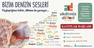 İzmir Büyükşehir Belediyesi Akdeniz Dilleri Merkezi'nde kayıtlar başladı