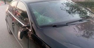 Otomobil İle Elektrikli Bisiklet Çarpıştı: 1 Ağır Yaralı