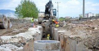 Asat Antalyayı Kanalizasyon Ağı İle Ördü