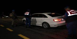 Jandarma Ve Polis Ekiplerinden Trafik Denetimi