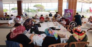 Bigada Kadınlar Oya Ve Yemek Yarışmasında Ter Döktüler