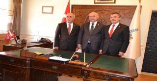 Yeni Dönem Belediye Başkanımız Davut Aydın Göreve Başladı