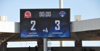 Batman Petrolspor - Kasımpaşa Maçı Tatil Edildi