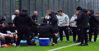 Beşiktaş Hazırlık Maçıyla Çalışmalarını Sürdürdü