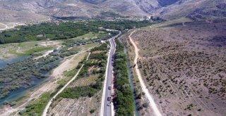 15 Kilometrelik Ereğli-İvriz Yolu Hizmete Açıldı