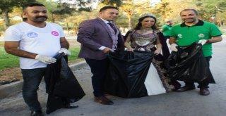 Alaşehir Belediyesinden Çöp Toplama Etkinliği
