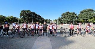 Belediye Başkanı Tahmazoğlundan Bisiklet Turu