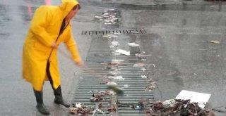 Büyükşehir'den fırtına ve yağmur seferberliği