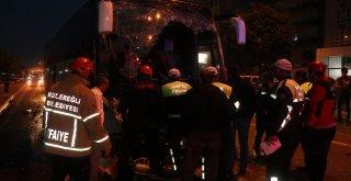 Yolcu Otobüsü Tıra Çarptı: 1 Ölü, 17 Yaralı