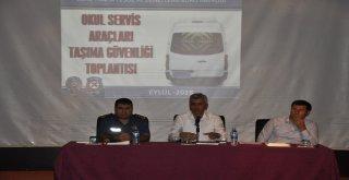 Cizrede Eğitim Dönemi Taşıma Güvenliği Toplantısı