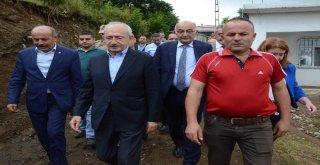 Kılıçdaroğlundan Heyelanda Ölen Vatandaşın Ailesine Taziye Ziyareti
