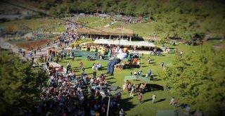 Burunucu Macera Parkına Ziyaretçi Akını