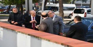 Başkanı  Kafaoğlundan  Balıkesir Adliyesine Geçmiş Olsun  Ziyareti.