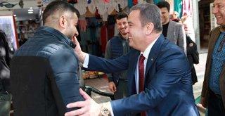 Başkan Böcek Alanya'da