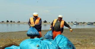 Van Gölüne Dökülen Dereler Temizleniyor