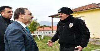 Başkan Zihni Şahin,  Sabır  Diledi.