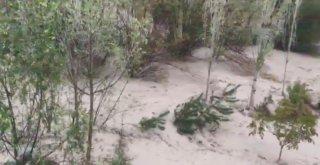 Sivasta Tarım Arazileri Sular Altında Kaldı