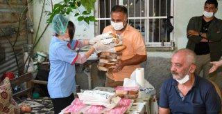 Büyükşehir-BM iş birliğiyle muhtaç vatandaşa 3 kap sıcak yemek