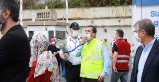 İBB'DEN, COVİD ÖNLEMLİ DEPREM TATBİKATI