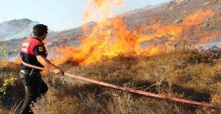 2 Uçak, 1 Helikopter Bodrumdaki Yangını Güçlükle Söndürdü