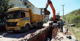 İzmit Yenimahalle'de altyapı hatları yenileniyor