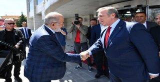 Başkan Yavaşa Temel Karamollaoğlundan Ziyaret