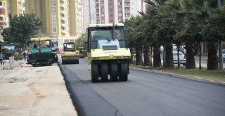 Büyükşehir'in asfalt hamlesi sürüyor