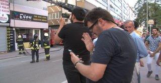 Eşini Telefonla Görüntülü Arayarak Yangını İzletti