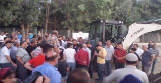 Erzurumda Hayatını Kaybeden Asker Nusaybinde Defnedildi