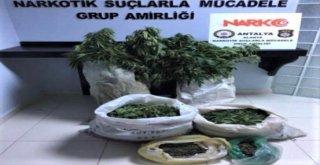 Alanyada 2 Ayrı Uyuşturucu Operasyonu: 2 Gözaltı
