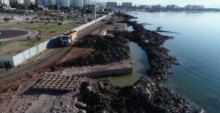 Mavişehir'deki kıyı projesi sürüyor