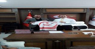 1071 Malazgirt Spor Kulübünden Kaymakam Yalçına Ziyaret