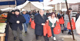 Bez Çanta Dağıtımı Kapaklı Ve Çerkezköyde Devam Etti