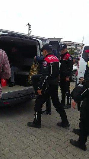 Düzcede Cinayet Zanlısından Zehir Tacirine Kadar 10 Kişi Yakalandı